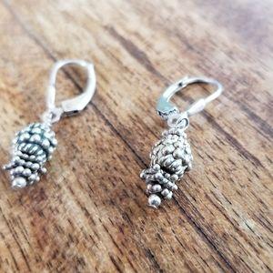 Jewelry - Sterling silver drop earrings